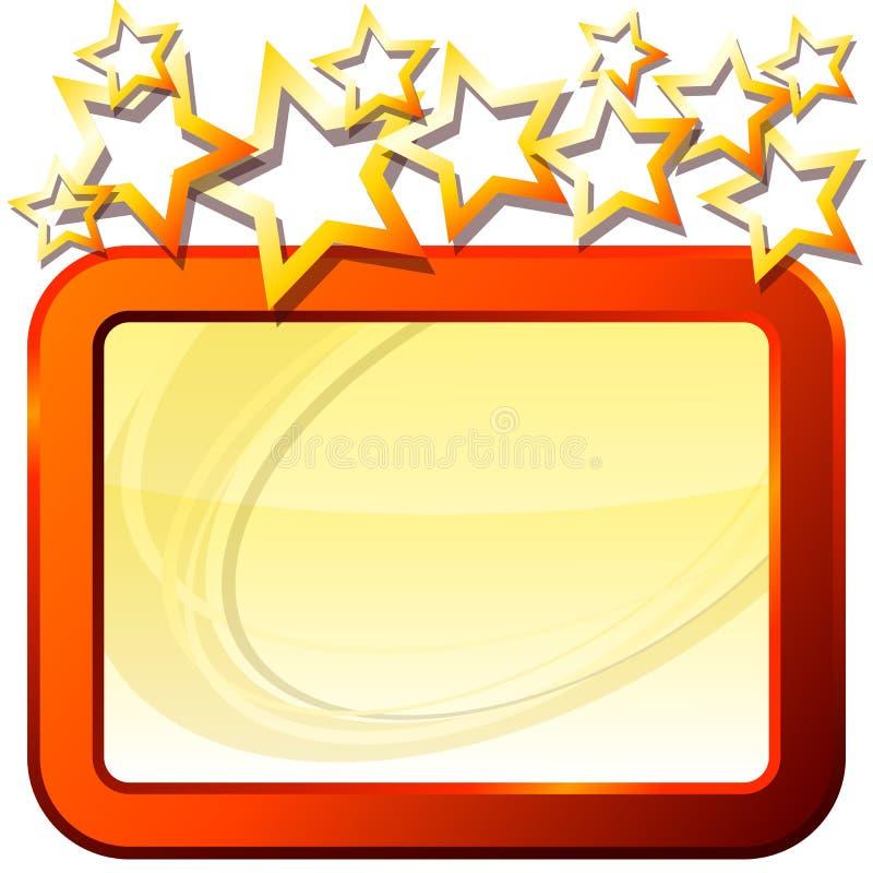 ramowe gwiazdy ilustracji