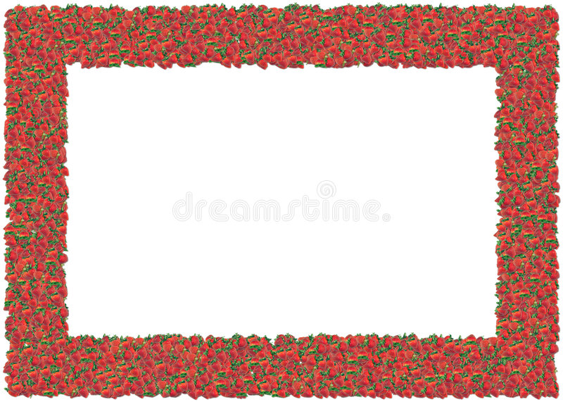 ramowe truskawki ilustracja wektor
