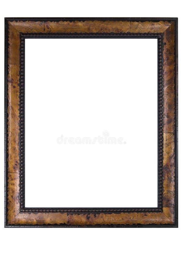 ramowej fotografii retro drewniany zdjęcie royalty free