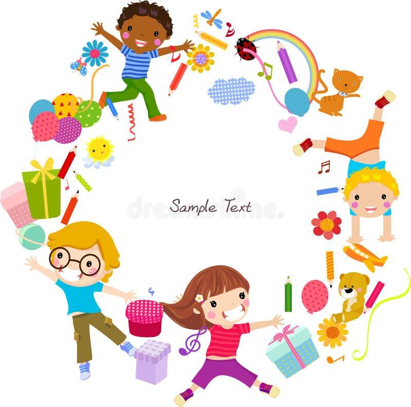 ramowi dzieciaki ilustracji