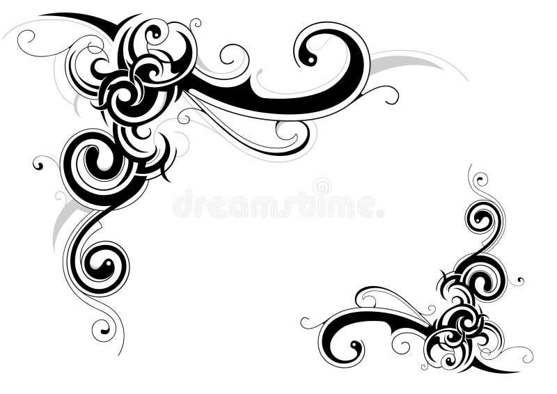 Ramowi elementy royalty ilustracja