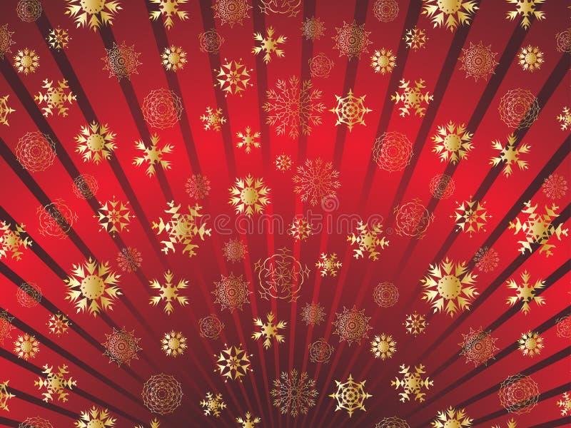 ramowi płatek śniegu royalty ilustracja