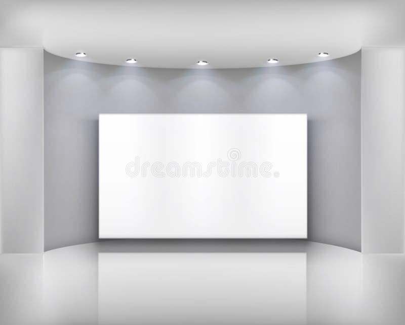 ramowy biel ilustracja wektor