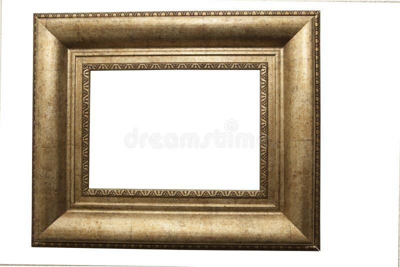 ramowy gilt odizolowywający obrazek zdjęcia stock