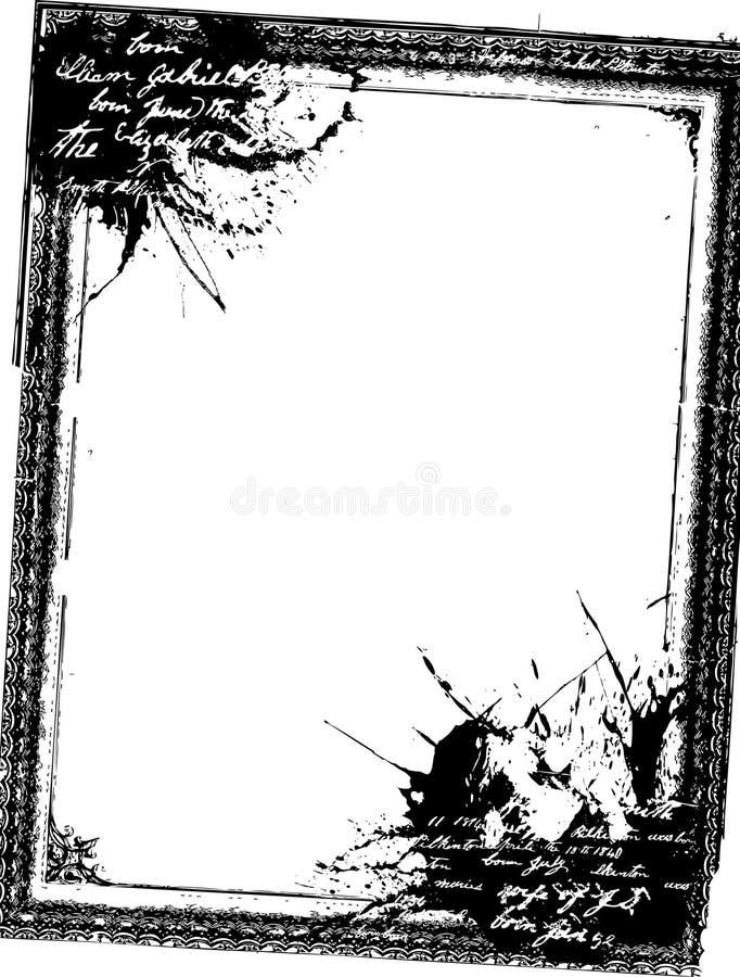 ramowy grunge ilustracja wektor