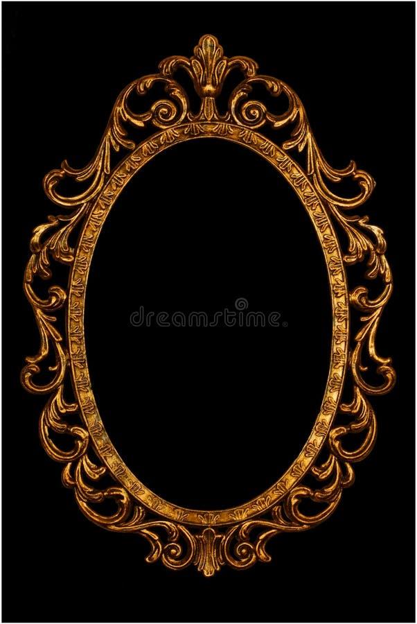 ramowy lustrzany ozdobny obrazek obraz stock