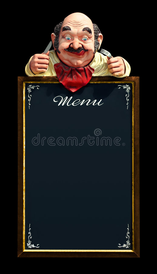 ramowy menu zdjęcie royalty free