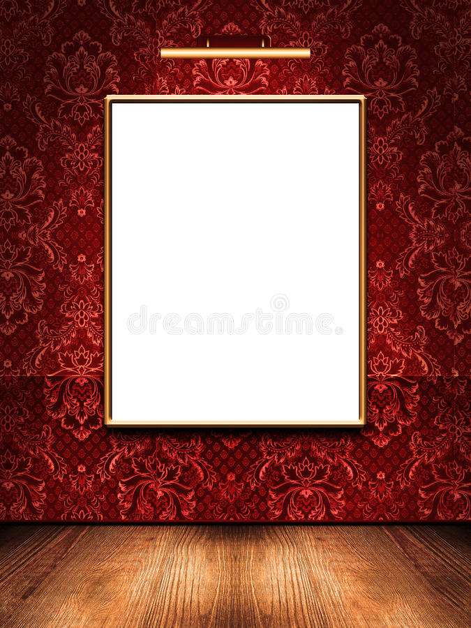 ramowy obrazek royalty ilustracja
