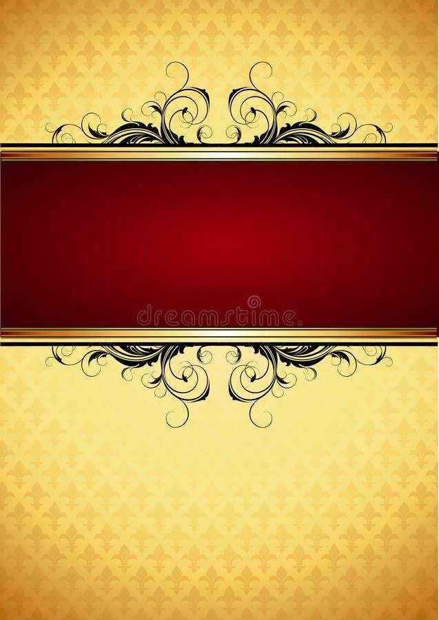 ramowy ozdobny royalty ilustracja