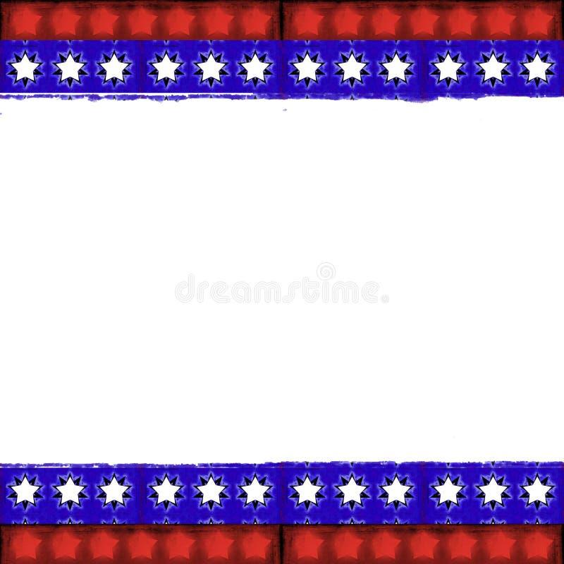 ramowy patriotyczny ilustracji