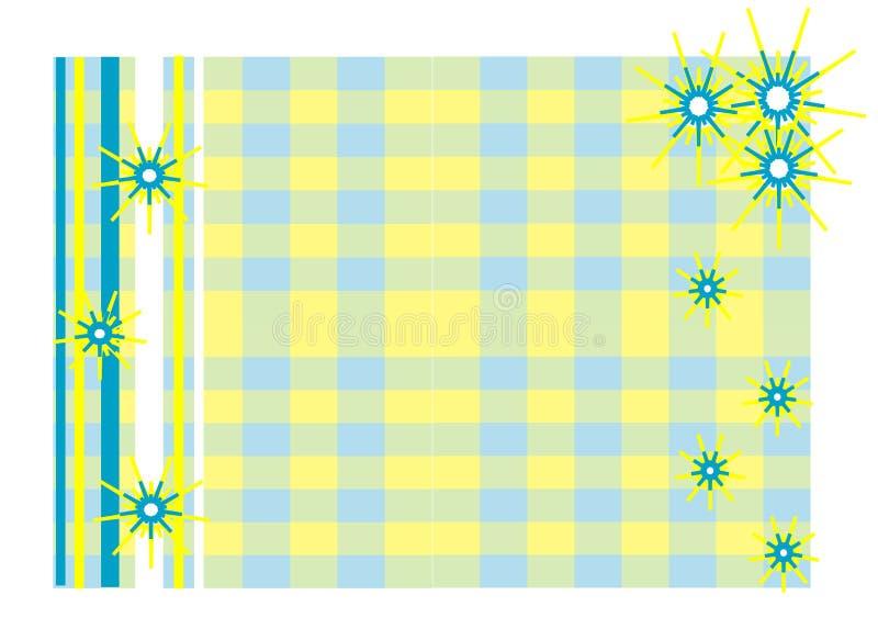 ramowy słońce ilustracja wektor
