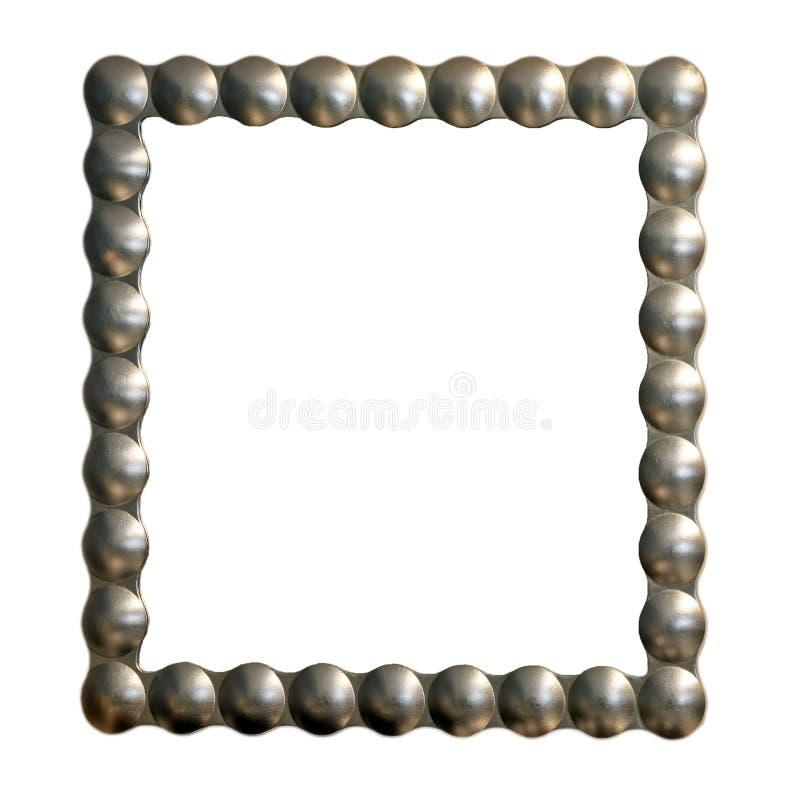 ramowy srebra zdjęcie stock