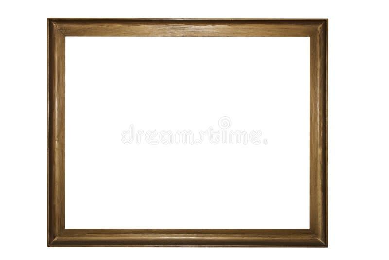 ramowy stary drewniany fotografia royalty free