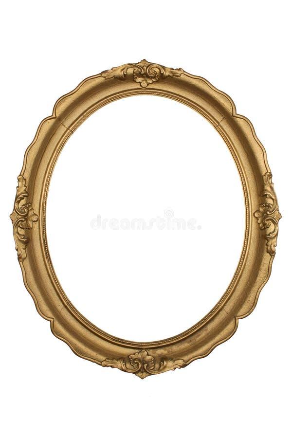 ramowy złoto obraz stock