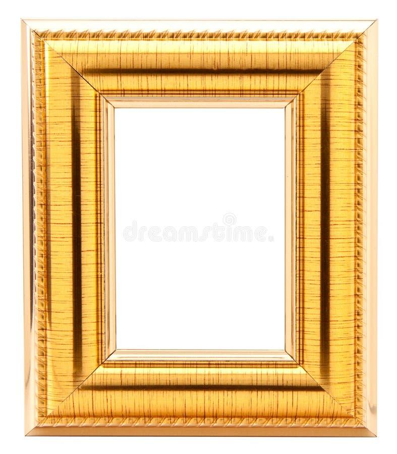 ramowy złoto fotografia royalty free