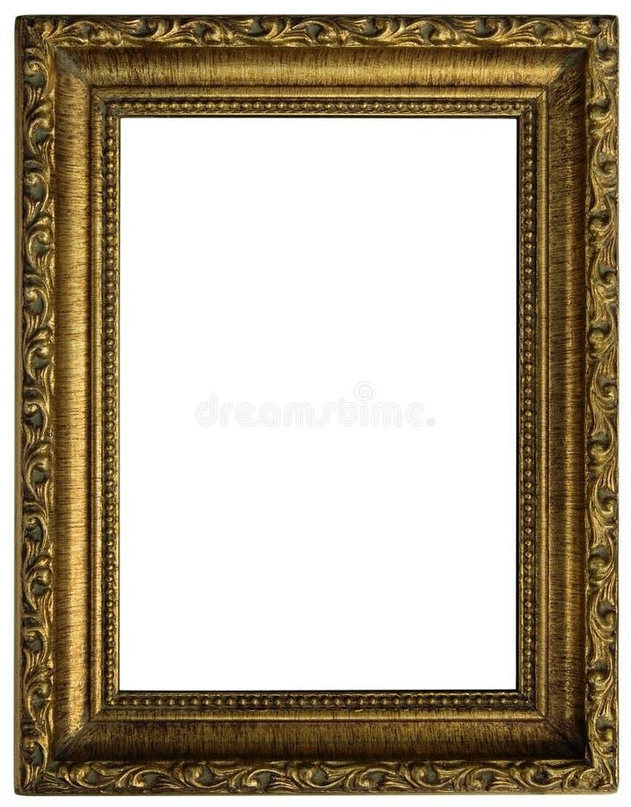 ramowy złoty zdjęcie royalty free