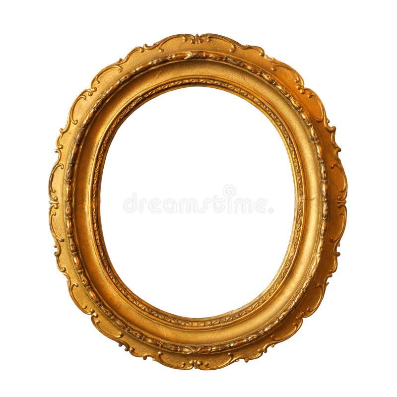 ramowy złoty stary obraz royalty free