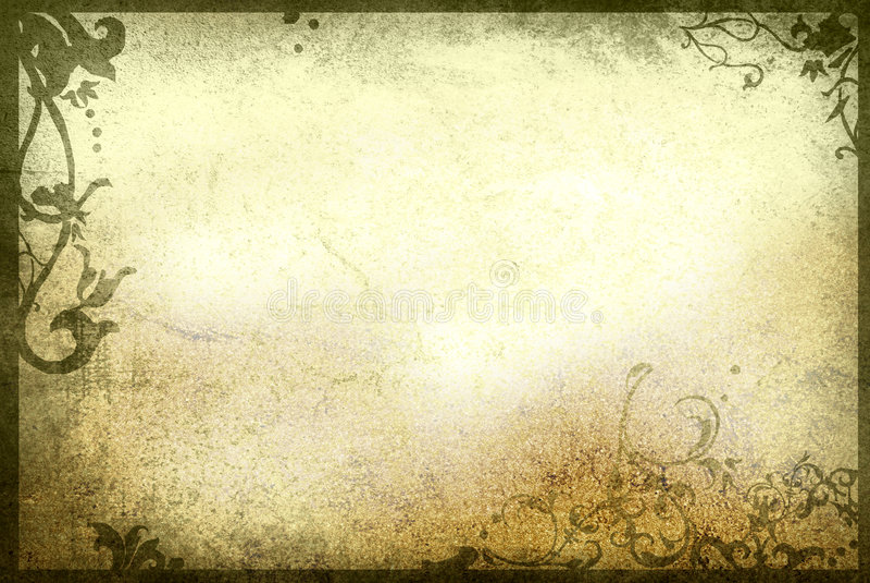 ramowych kwieciste stare księgi stylu tekstury zdjęcia royalty free