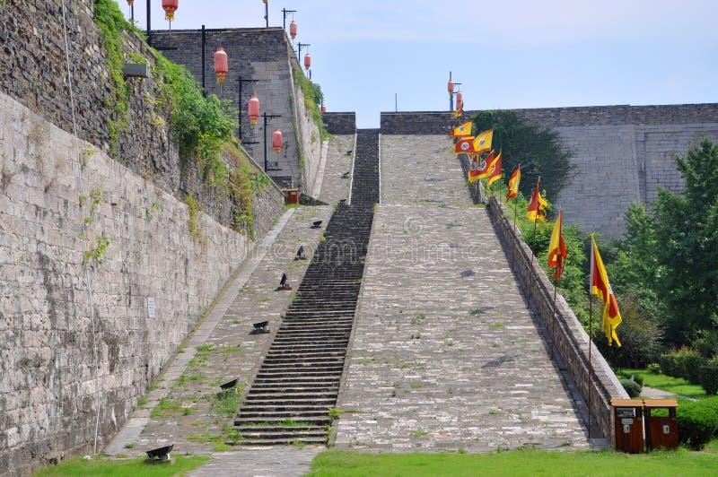 Download Ramp Of Zhonghua Gate In Nanjing Stock Image - Image: 25615403