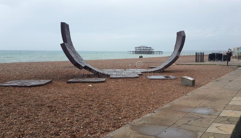 Rampa del pattino di Brighton, West Sussex, Regno Unito fotografie stock