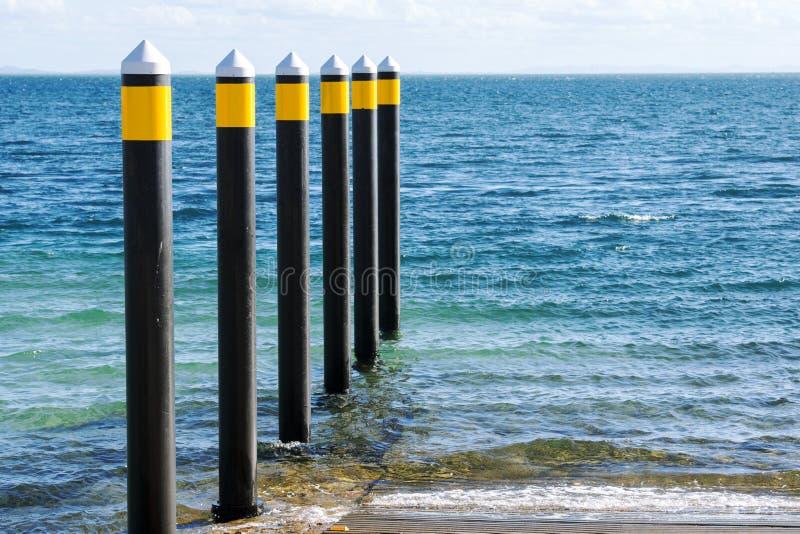 Download Rampa Della Barca Durante Il Giorno All'isola Del Nord Di Stradbroke Immagine Stock - Immagine di cielo, mare: 55355259