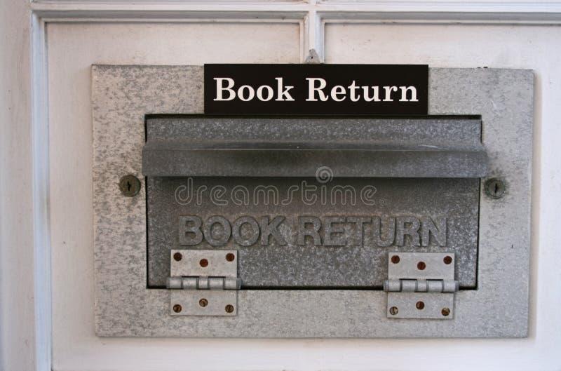 Rampa do retorno do livro fotografia de stock royalty free