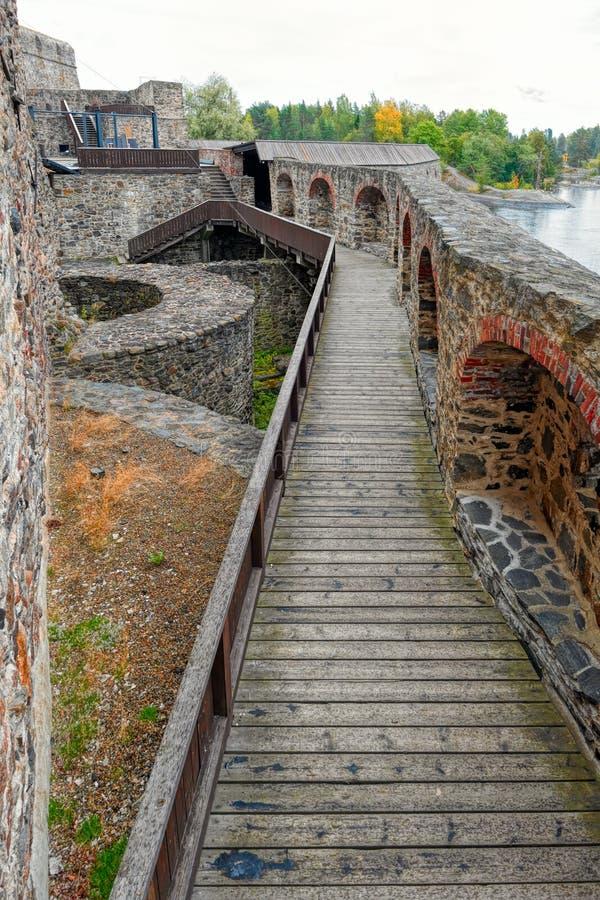 Ramparts średniowieczny forteca zdjęcia royalty free