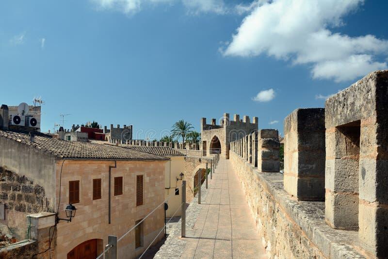 Ramparts Alcudia, Majorca obraz royalty free