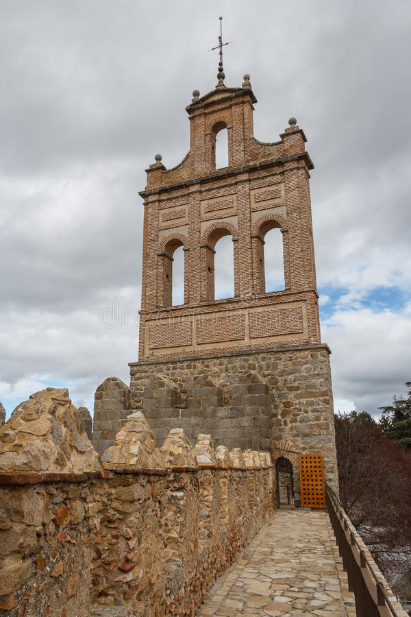 Ramparts of Avila. Spain stock photos