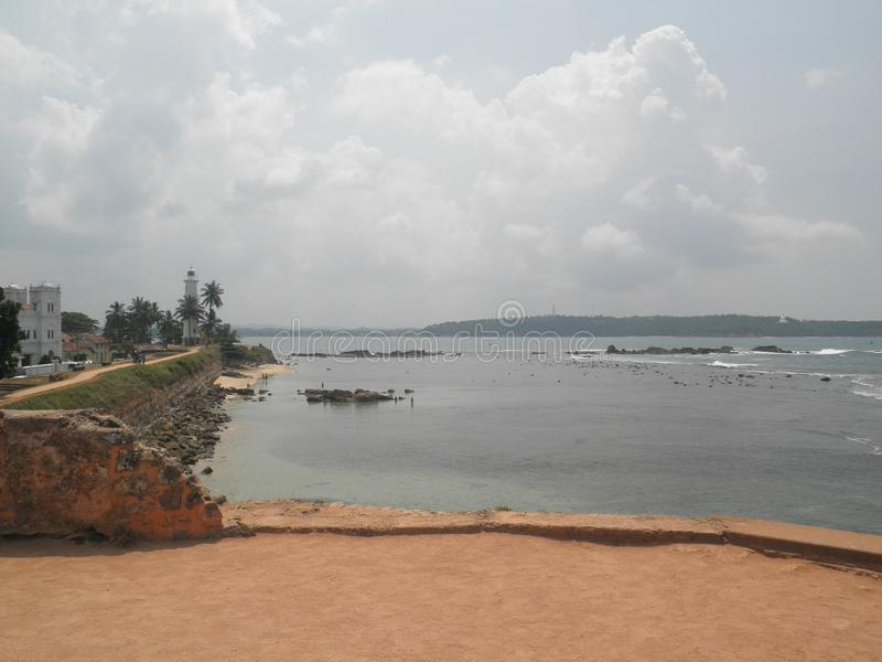 Ramparts Galle Sri Lanka zdjęcie royalty free