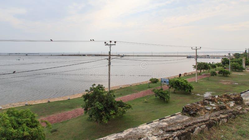 Ramparts Jaffna fort w Sri Lanka zdjęcie royalty free
