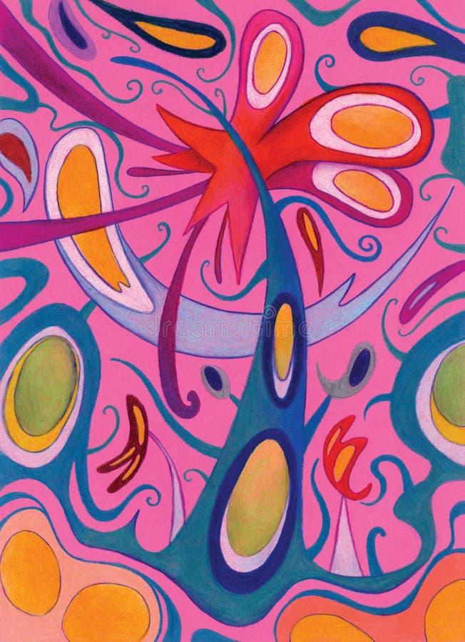 Download Rampe Abstraite D'imagination Illustration Stock - Illustration du lignes, yeux: 8662838
