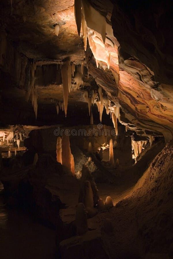 Rampe B57 souterraine photographie stock libre de droits