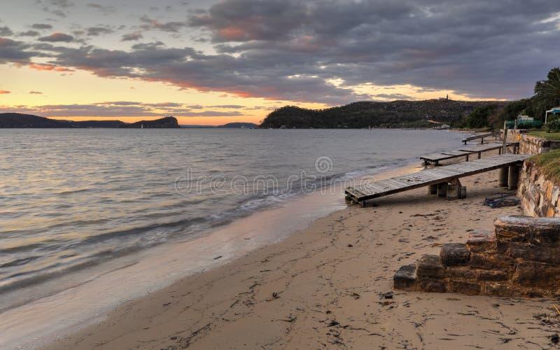 Rampe della barca del Palm Beach fotografie stock