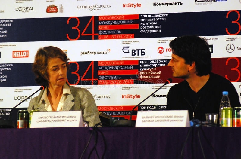 Download Rampling And Southcombe At Press-conference Editorial Image - Image: 25513965