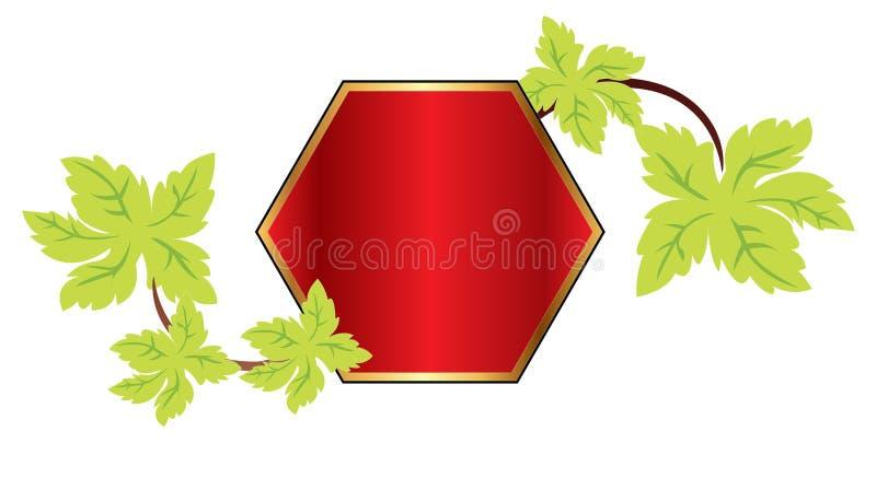 rampolygon stock illustrationer