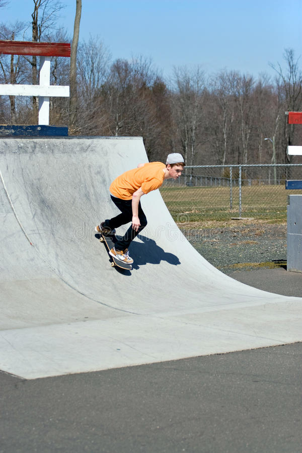 rampskateboard royaltyfri foto