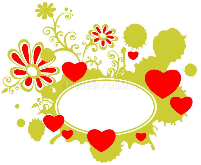 ramromantiker royaltyfri illustrationer