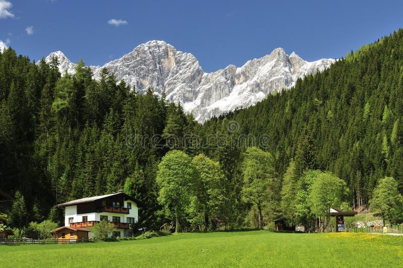 Ramsau am Dachstein royalty-vrije stock afbeelding