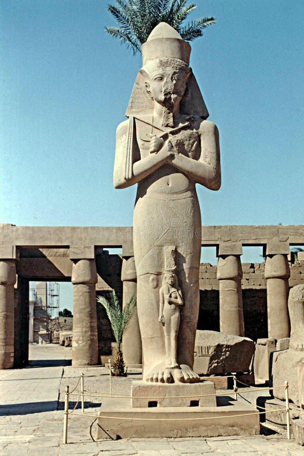 Ramses ΙΙ karnak στοκ φωτογραφία με δικαίωμα ελεύθερης χρήσης