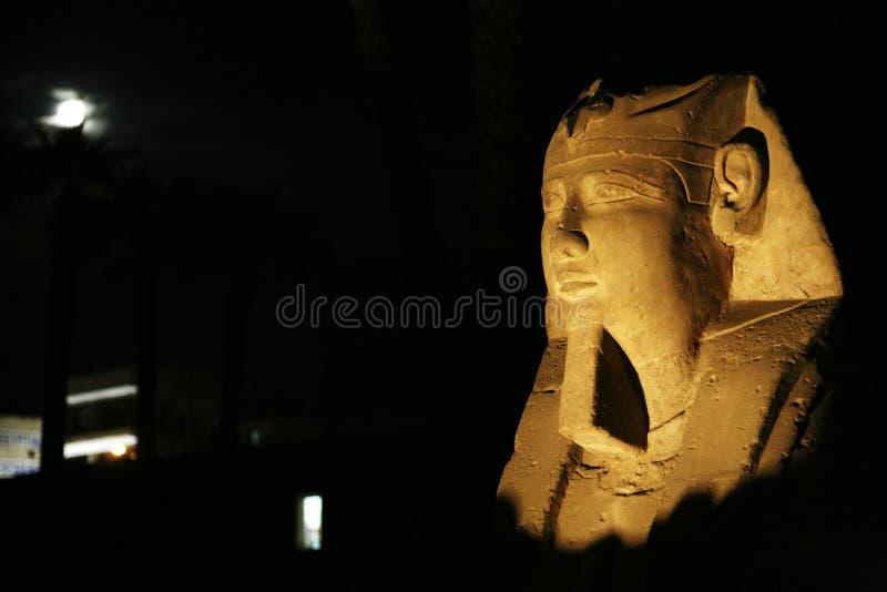 Ramses και φεγγάρι στοκ φωτογραφία με δικαίωμα ελεύθερης χρήσης