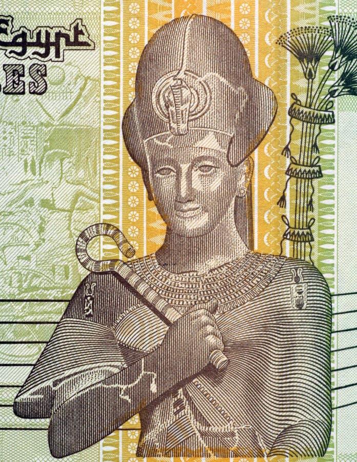 ramses du pharaon II photographie stock libre de droits