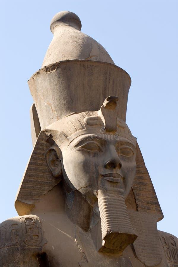 Ramses II em Luxor imagens de stock