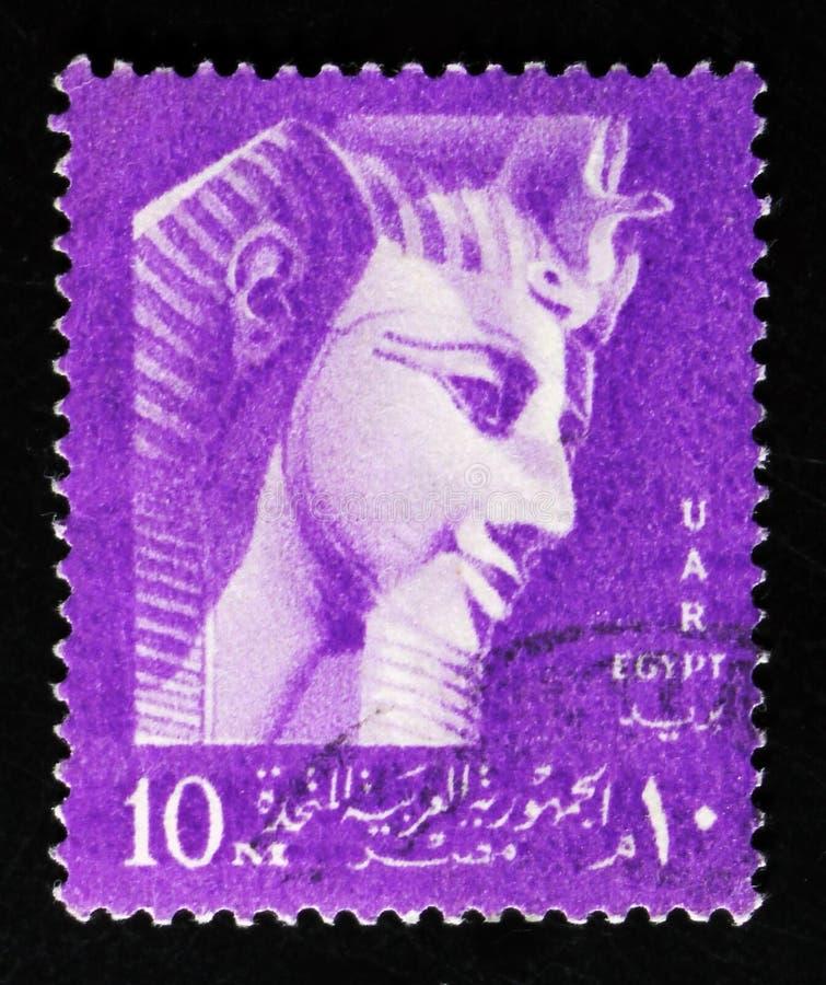 Ramses Ii National Symbols Serie Circa 1957 Editorial Stock Photo