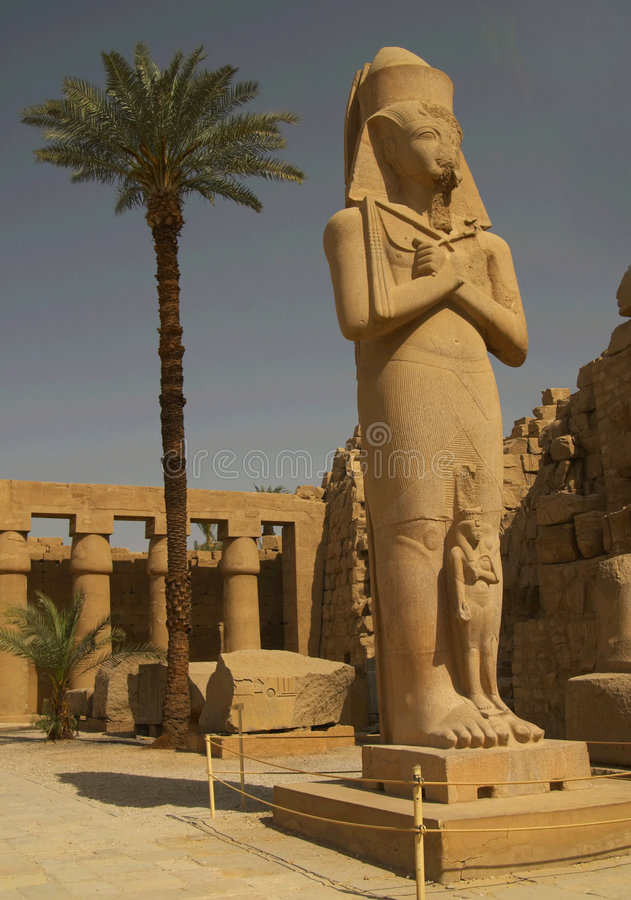 Ramses II Statue Stock Images