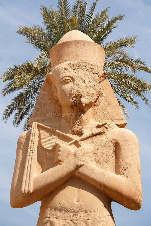 Ramses II. Tempel Karnak. Luxor, Egypte stock foto