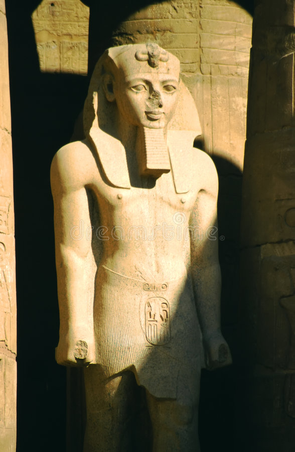 Ramses pharoah stock photography