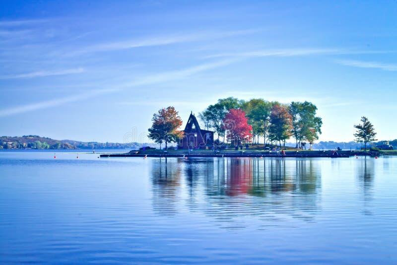 ramsey λιμνών φθινοπώρου στοκ φωτογραφίες