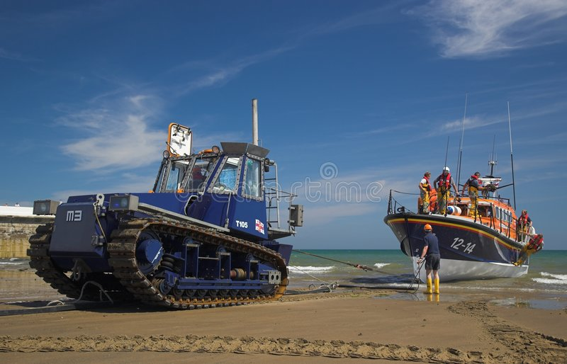 ramsey ναυαγοσωστικών λέμβων στοκ φωτογραφία