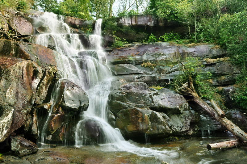 Ramsey Cascades dans Gatlinburg image stock
